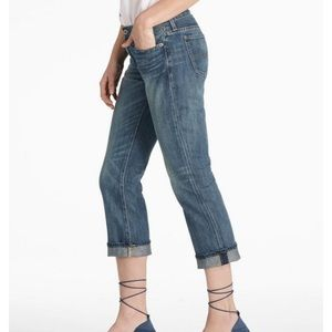 Lucky Brand Dungarees Classic Rider Crop 12 / 31